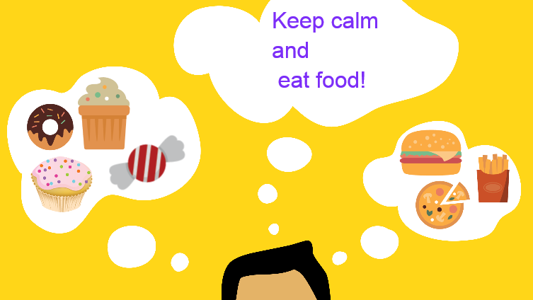 Keep calm-food
