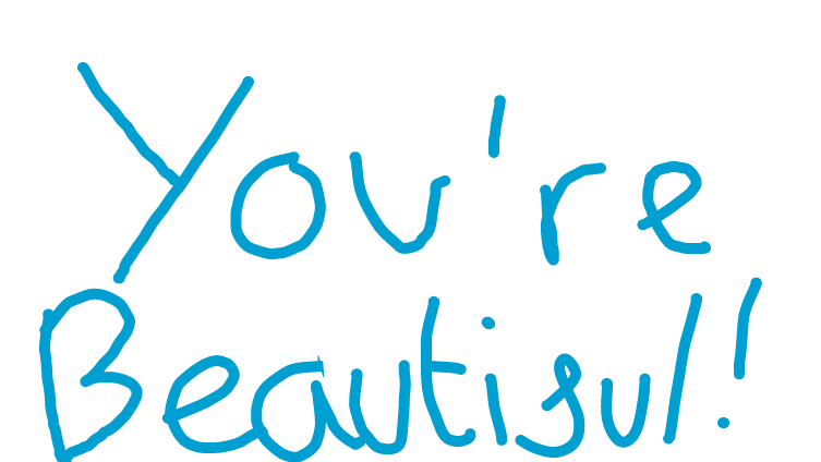 You're beautiful just the way you are❤