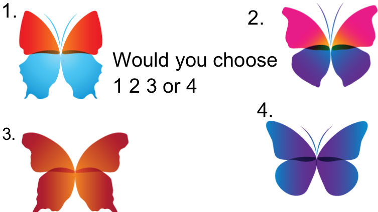 Which butterfly would you choose?