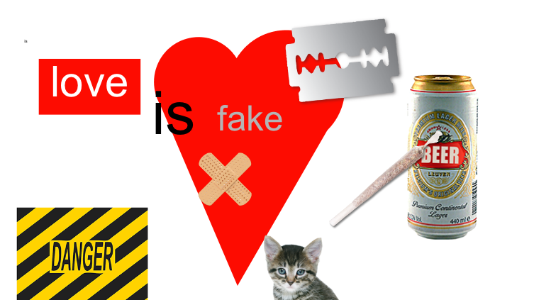 love is fake