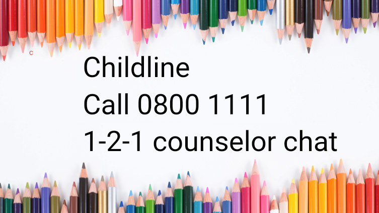 Childline is always here to talk too