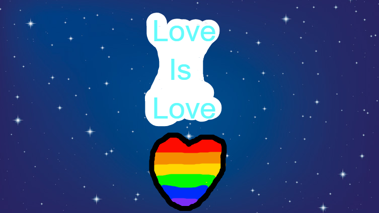LGBTQ+ Love Is Love