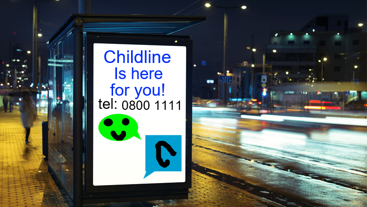 Childline is on the board!!