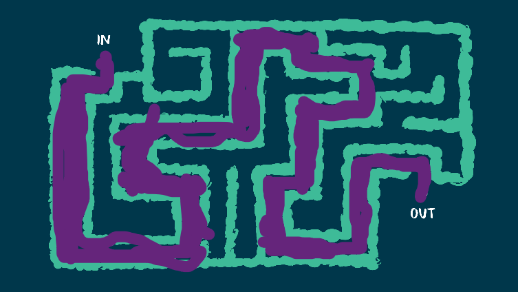 My Mystical Maze Solution
