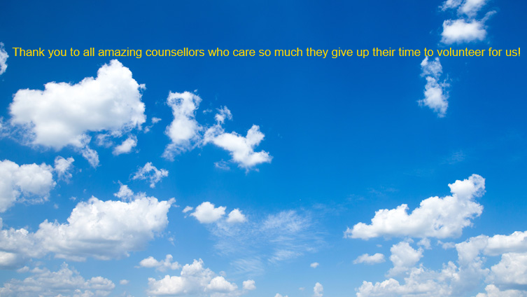Thank you to all amazing counsellors