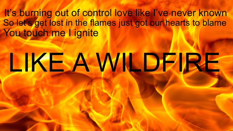 Wildfire (by Sam Tsui)