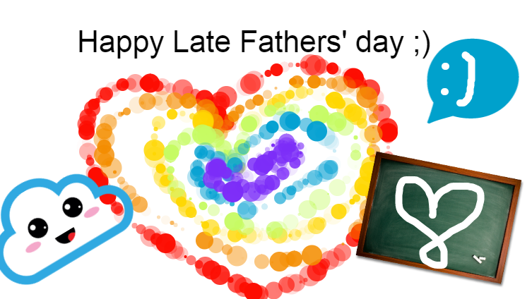 Happy Late Fathers' day 2020