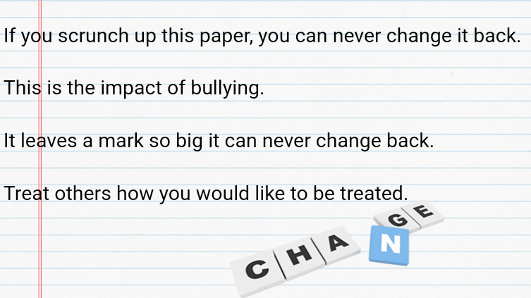 Bullying Leaves Scars